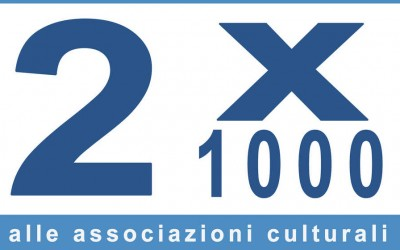 Possibilità di destinazione del 2 x 1000 alle associazioni culturali